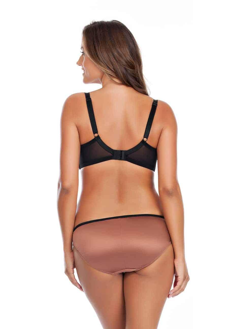 Charlotte PaddedBra6901 Bikini6905 Bronze Back - Charlotte Padded Bra - Bronze - 6901