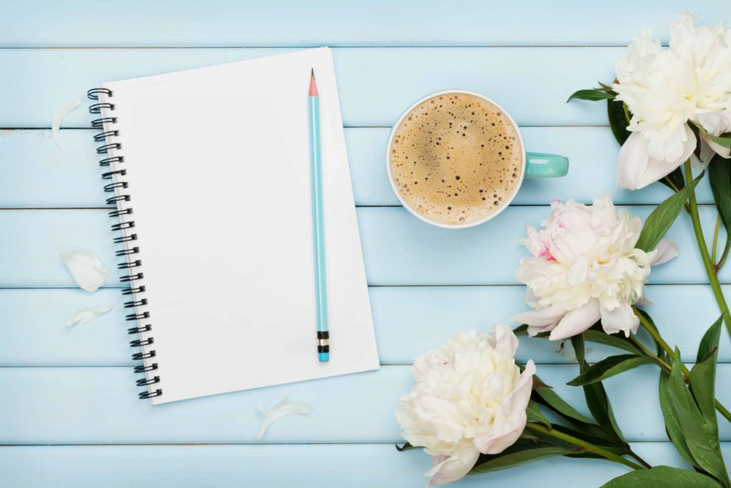 Dream notebook coffee 1024x683 - The Power of Creating a Dream List