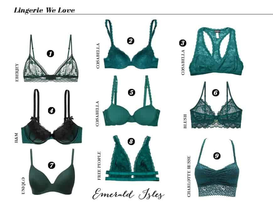 emeraldislesemeraldgreenlingerie