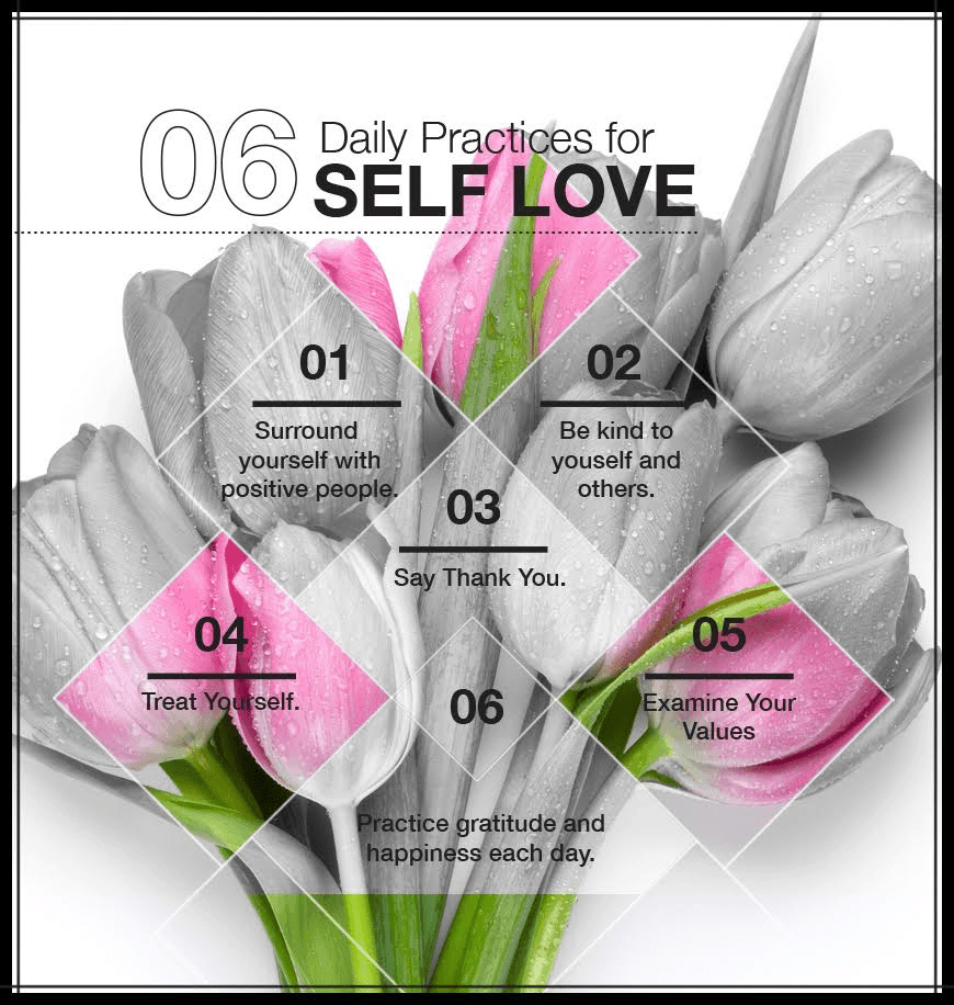6 daily practices for self love - 6 Daily Practices for Self Love