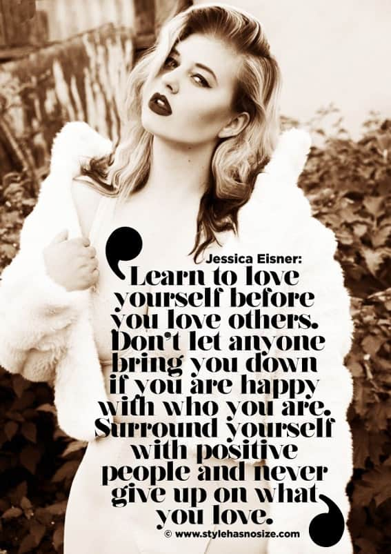 Jessica Eisner quote 1 - 6 Daily Practices for Self Love