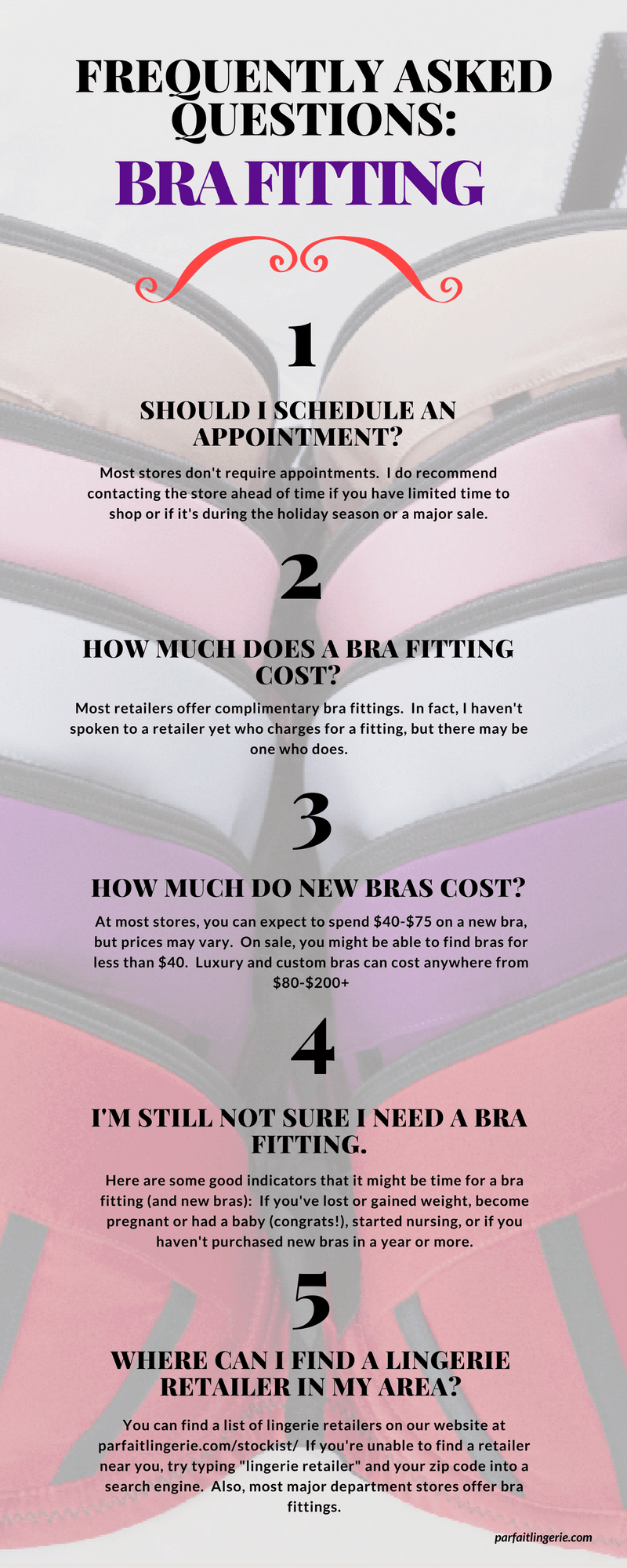 Answers to Your Frequently Asked Bra Fitting Questions new graphic 5 - Q&A: Answers to Your Frequently Asked Bra Fitting Questions