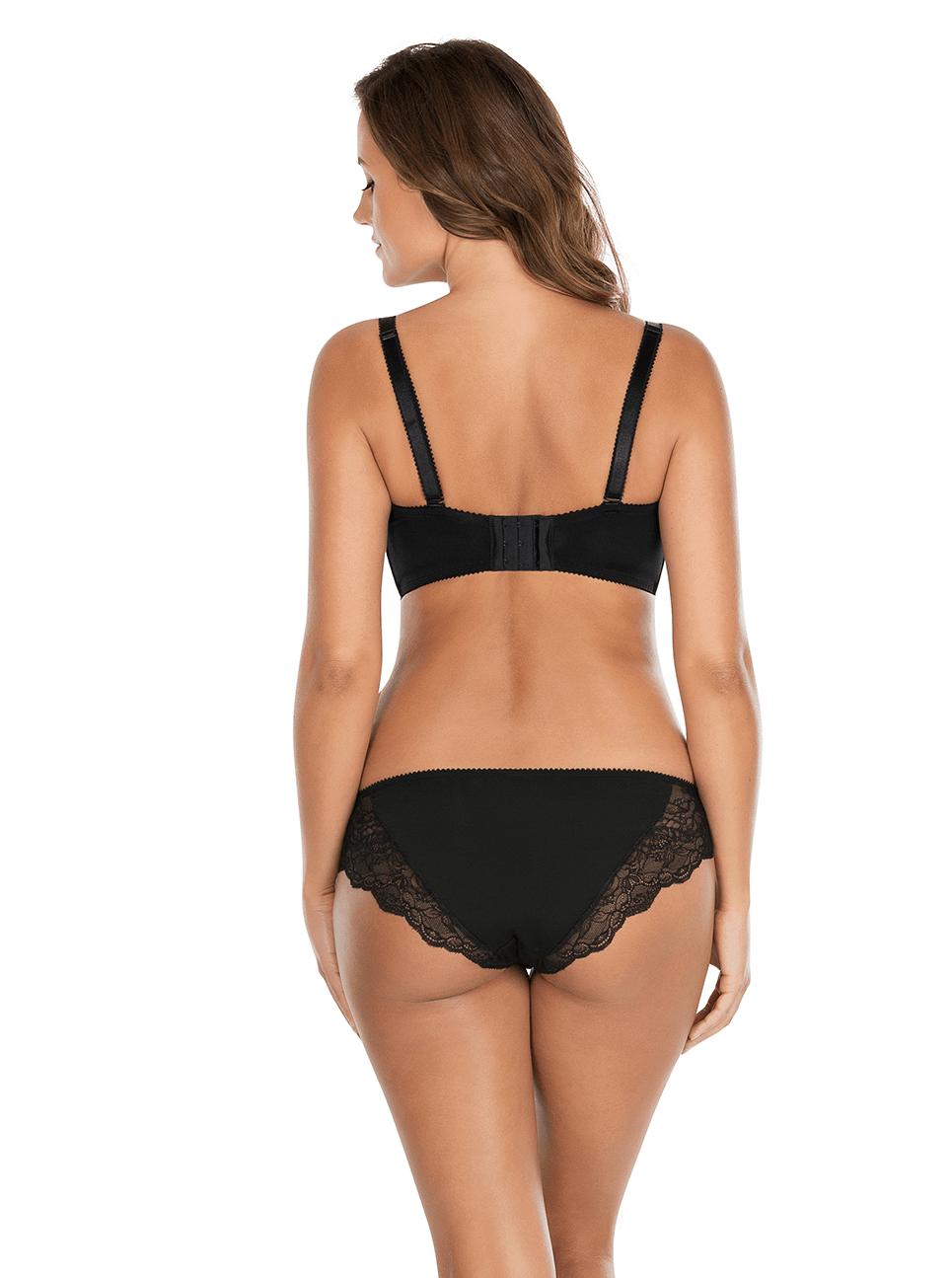 Elissa ContourUnderwireBraP5011 BikiniP5013 Black Back - Elissa Strapless Bra Black P5011