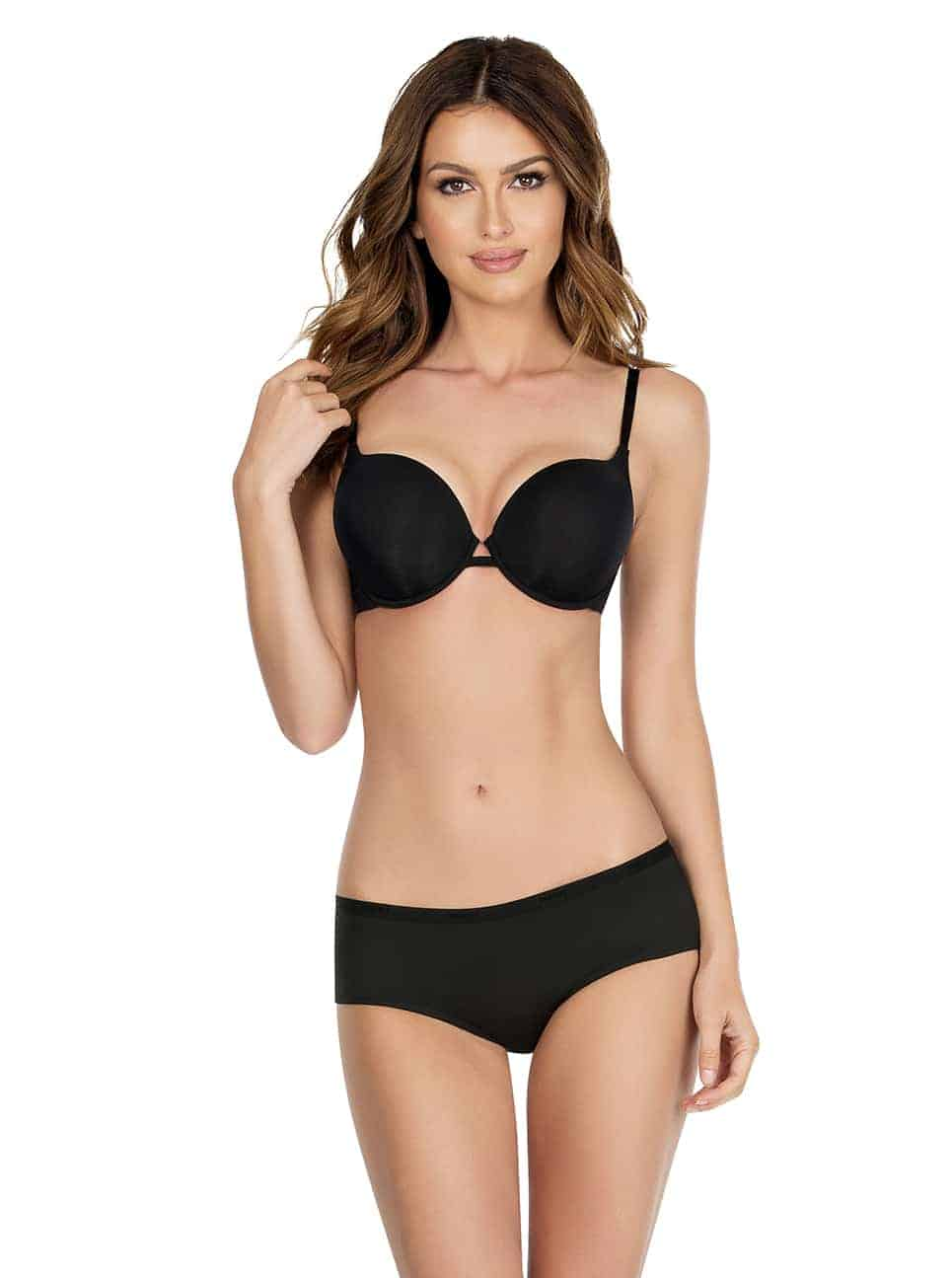 Lynn P13021 P13015 - Lynn Super Push-up Bra - Black - P13021