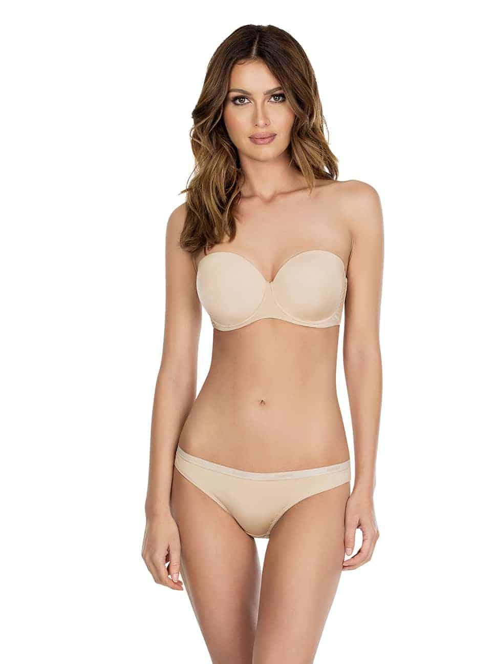 Lynn P13112 P13013Strapless2 - Lynn Bikini - European Nude - P13013