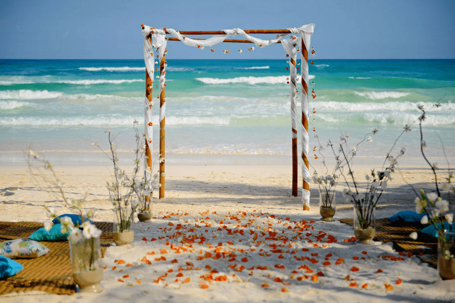 tulum mexico affordable destination wedding