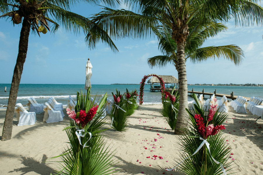 Dangriga Belize affordable destination wedding