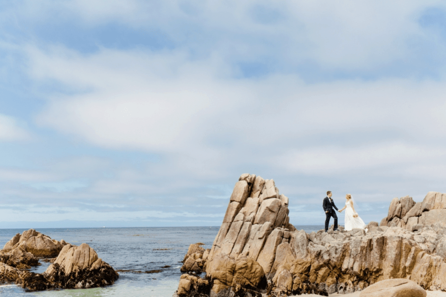 Monterey California affordable destination wedding