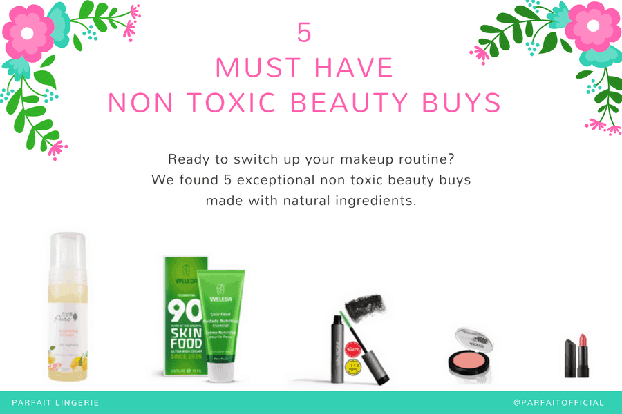 5 must have non toxic beauty buys natural makeup image