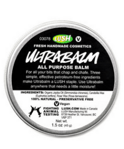 lush ultrabalm all purpose balm best products for dry and sensitive skin