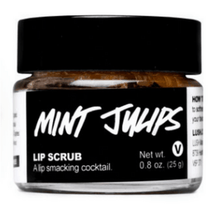 lush mint julips lip scrub best products for dry and sensitive skin