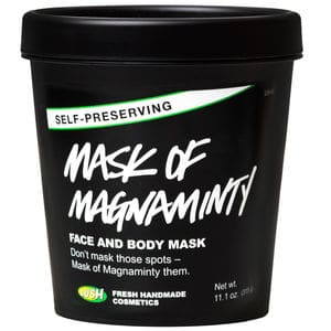 lush mask of magnaminty self preserving best skincare products for dry and sensitive skin