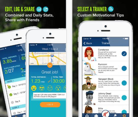 exercise apps for women