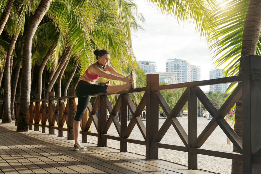how to workout when traveling