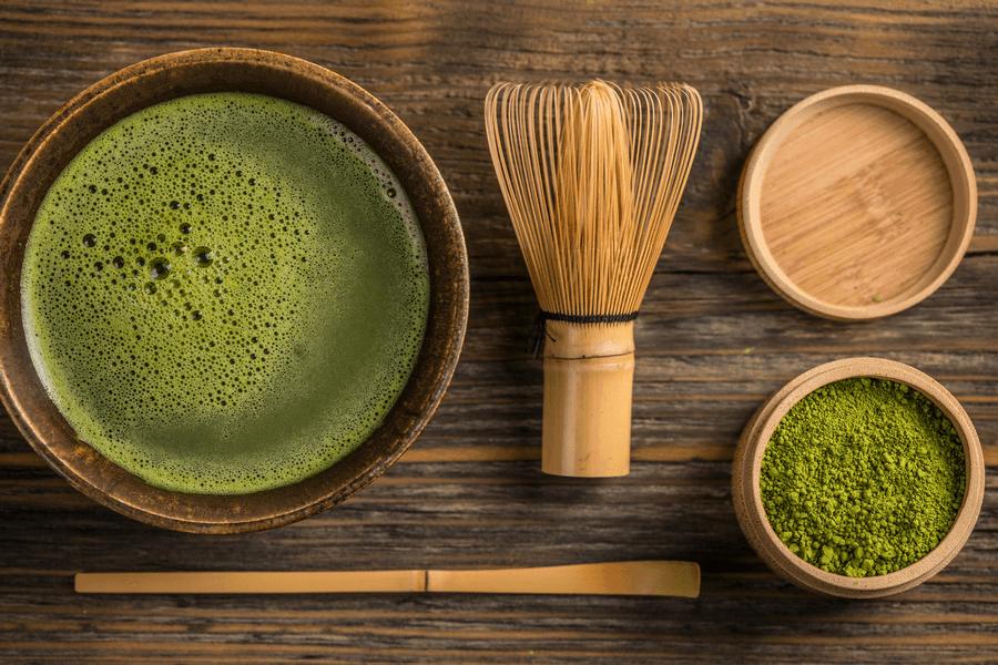 matcha green powder