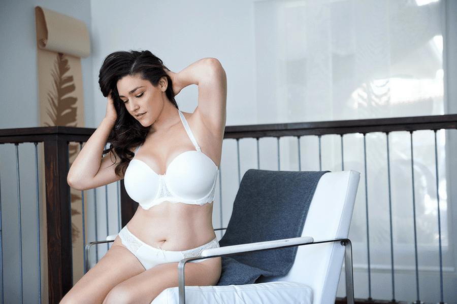 elissa strapless bra pearl white brazilian thong - The Only 8 Bras You Need In Your Spring Wardrobe