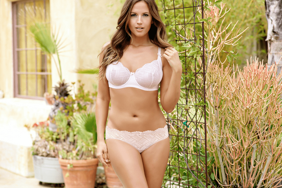 lucie unlined wire bra and brief - The Only 8 Bras You Need In Your Spring Wardrobe