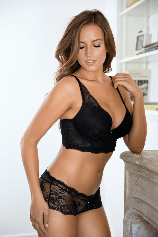 a plunge bra that fits