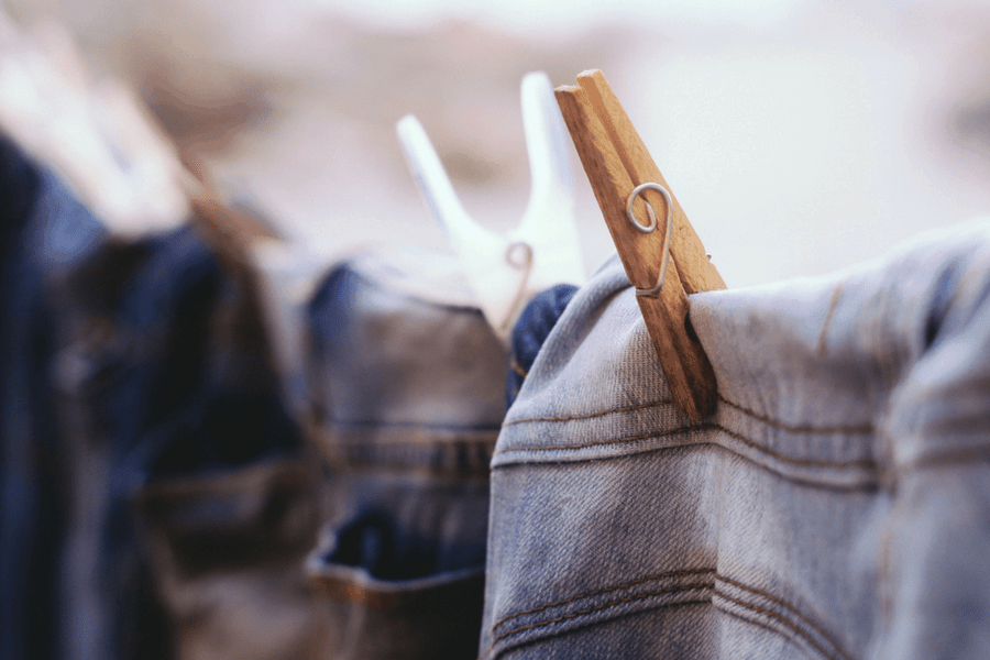 air dry your clothes jeans