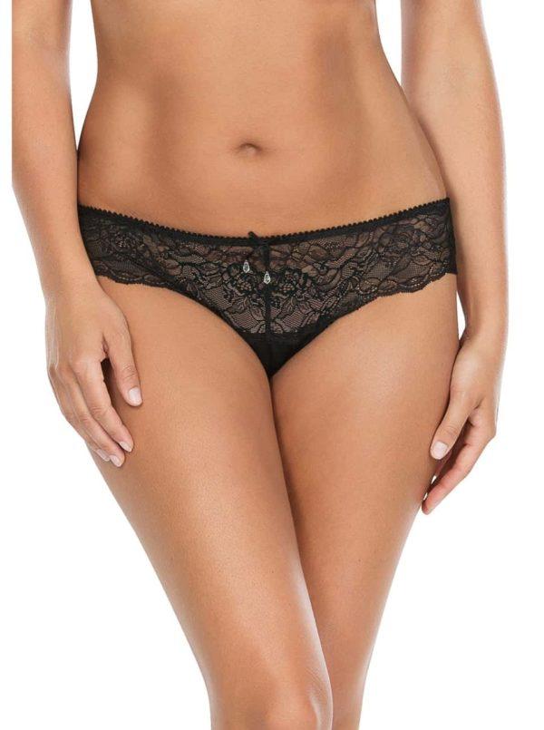 Elissa BikiniP5013 Black Front 600x805 - Elissa Bikini - Black - P5013