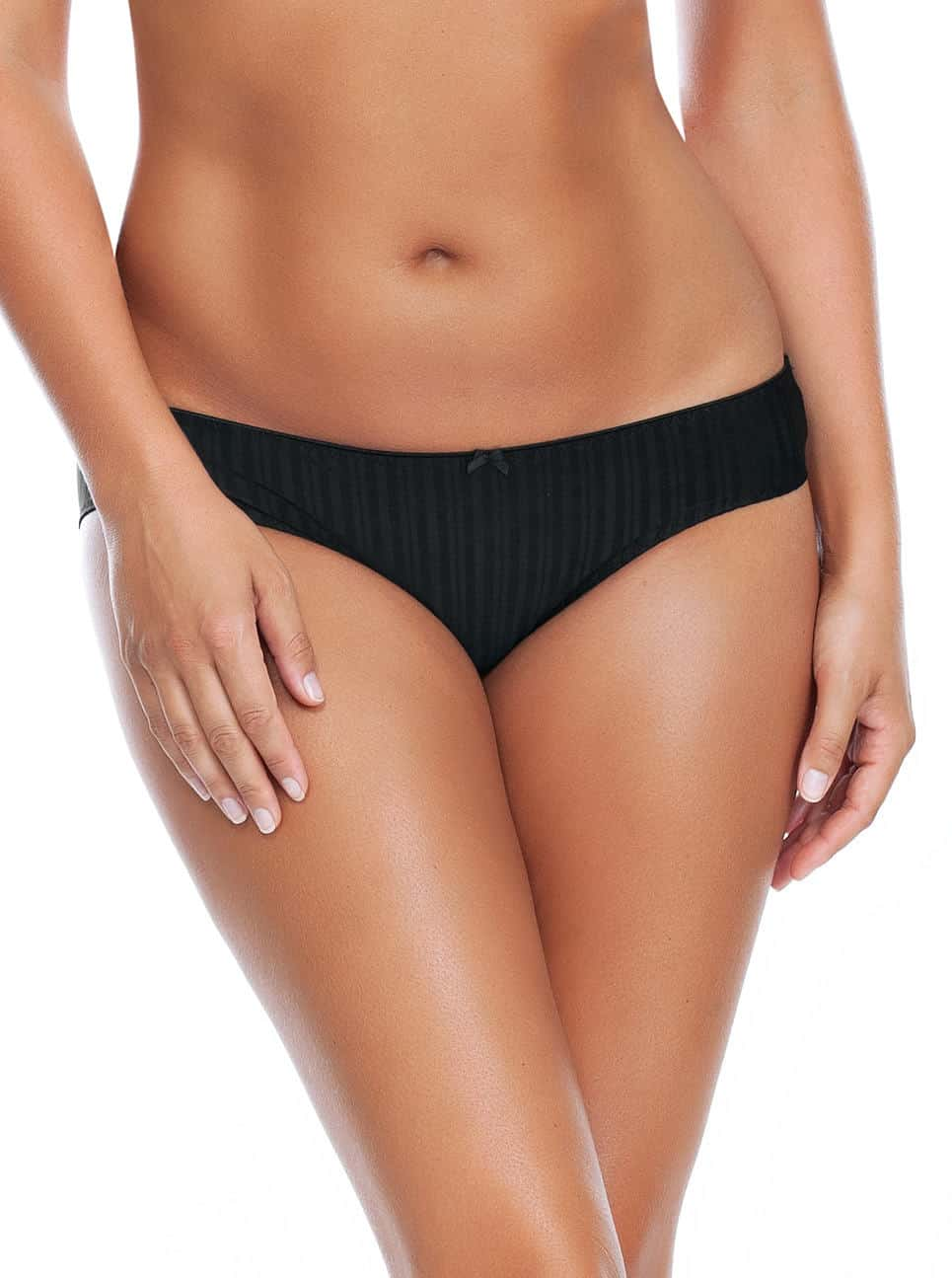 Aline BikiniP5253 Black Front - Aline Bikini - Black - P5253