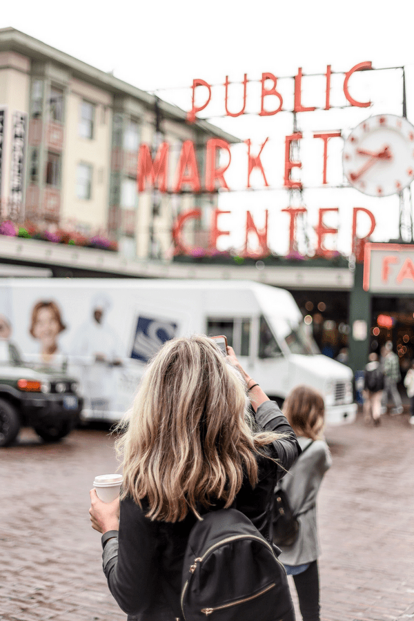 pike place market seattle - 8 Places to See With Your Kids Before They Turn 18