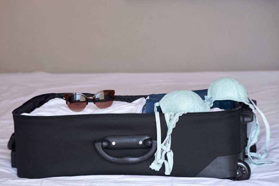 lingerie travel tips