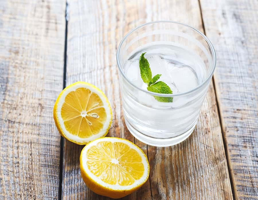 water with lemon and mint900 - How Showering Less Helped Me Appreciate My Body More
