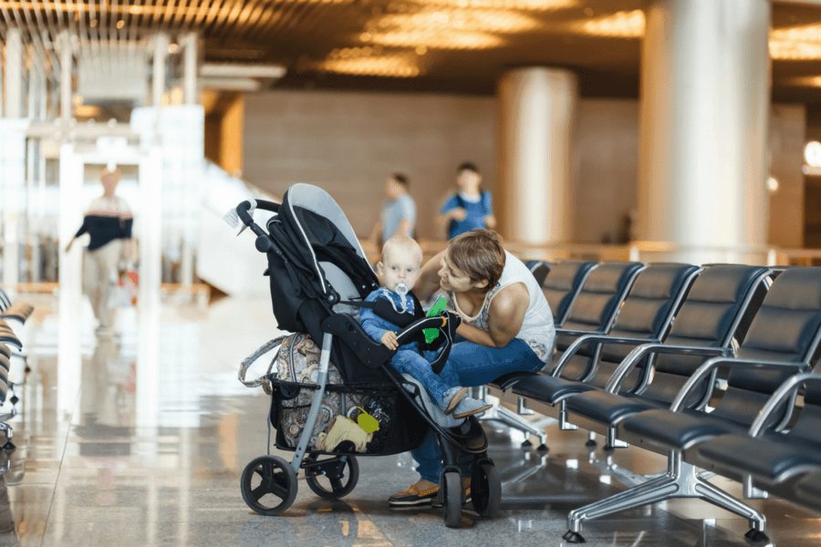 flying with baby consider hands free carrying - 6 Secrets To Stress-Free Travel With Baby