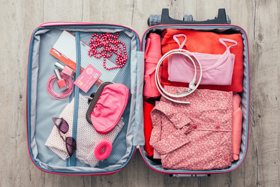 roll it up packing traveling tips - 10 Packing and Traveling Tips Every Woman Should Know