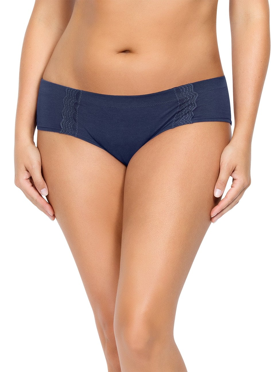 PARFAIT Dalis HipsterP5645 NavyBlue Front - Dalis Hipster - Navy - P5645