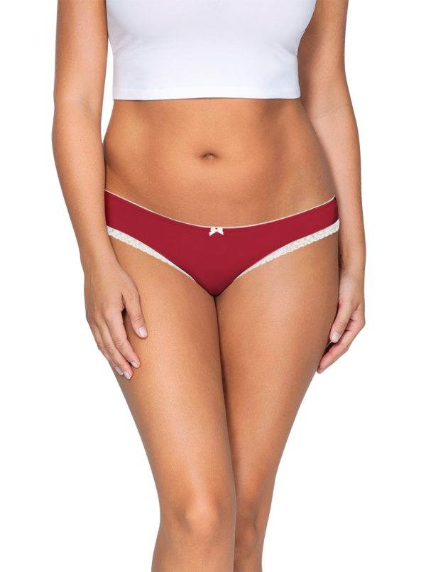 ParfaitPantyThong PP401 D TangoRedFront main 600x805 - So Lovely Thong Tango Red PP401