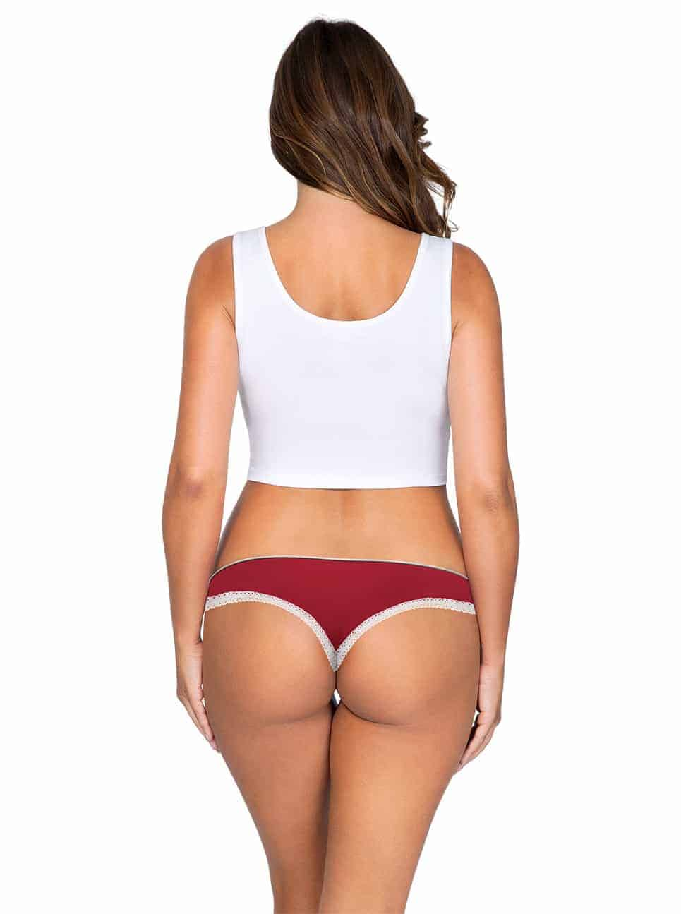 ParfaitPantyThong PP401 D TangoRedBack - Panty So Lovely Thong Tango Red PP401