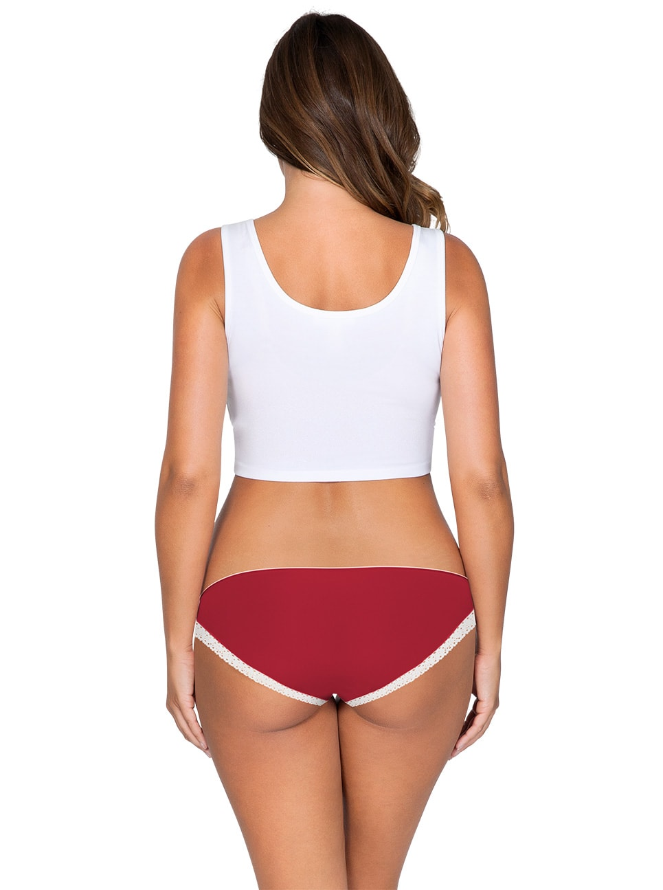 ParfaitPantyBikini PP301 D TangoRedBack - Panty So Lovely Bikini Tango Red PP301