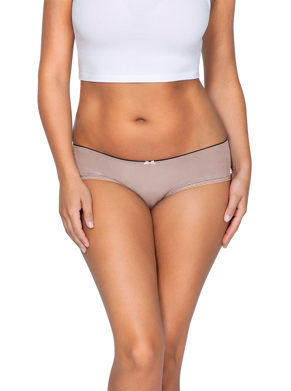 ParfaitPantyHipster PP501 B NudeFront main - Panty So Lovely Hipster European Nude PP501