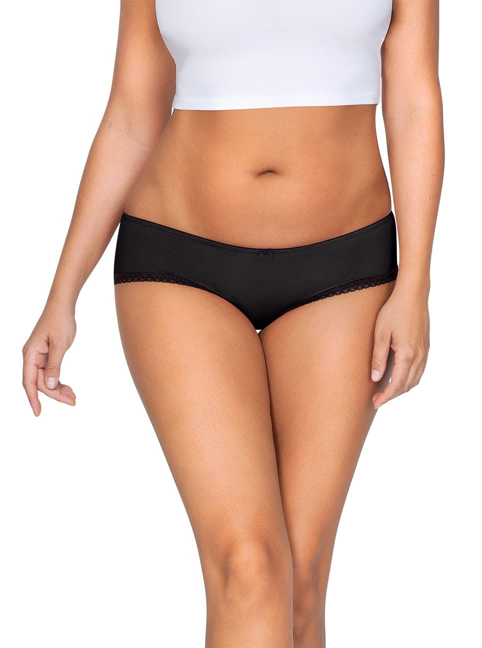 ParfaitPantyHipster PP501 A BlackFront main - Panty So Lovely Hipster Black PP501