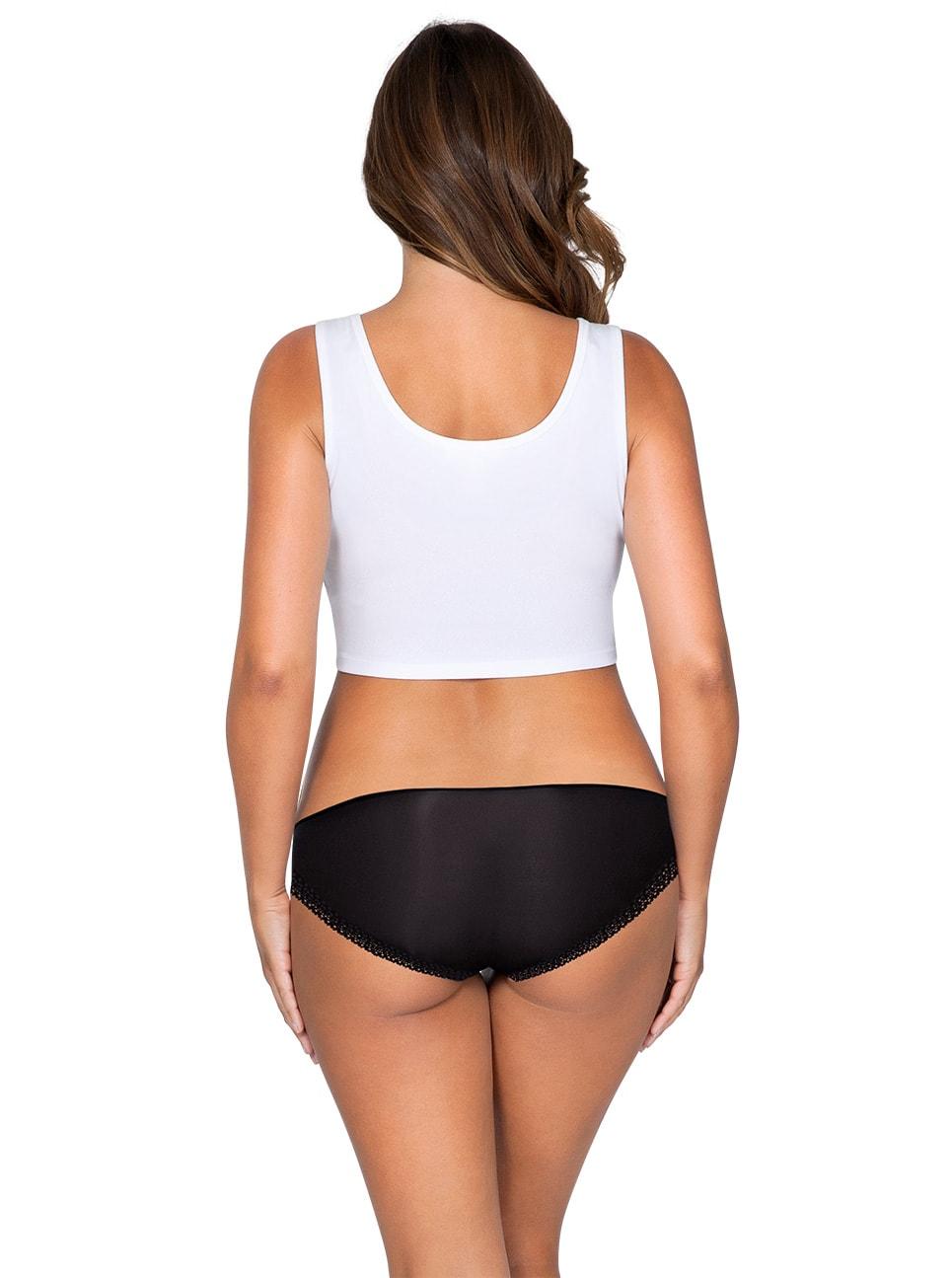 ParfaitPantyBikini PP301 A BlackBack - Panty So Lovely Bikini Black PP301