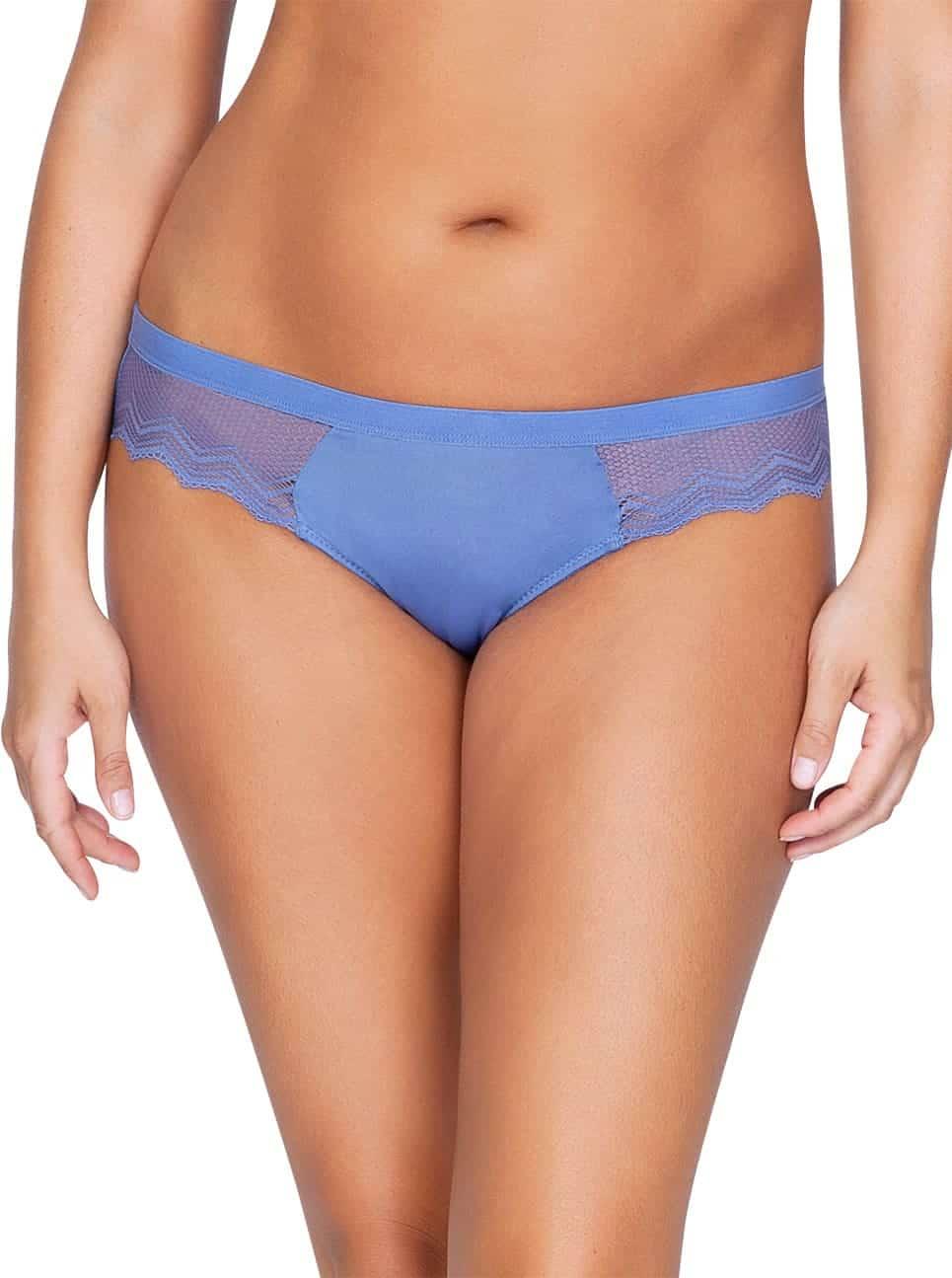 Lydie P5443 Bikini SilverBlueFront copy - Lydie Bikini – Silver Blue – P5443