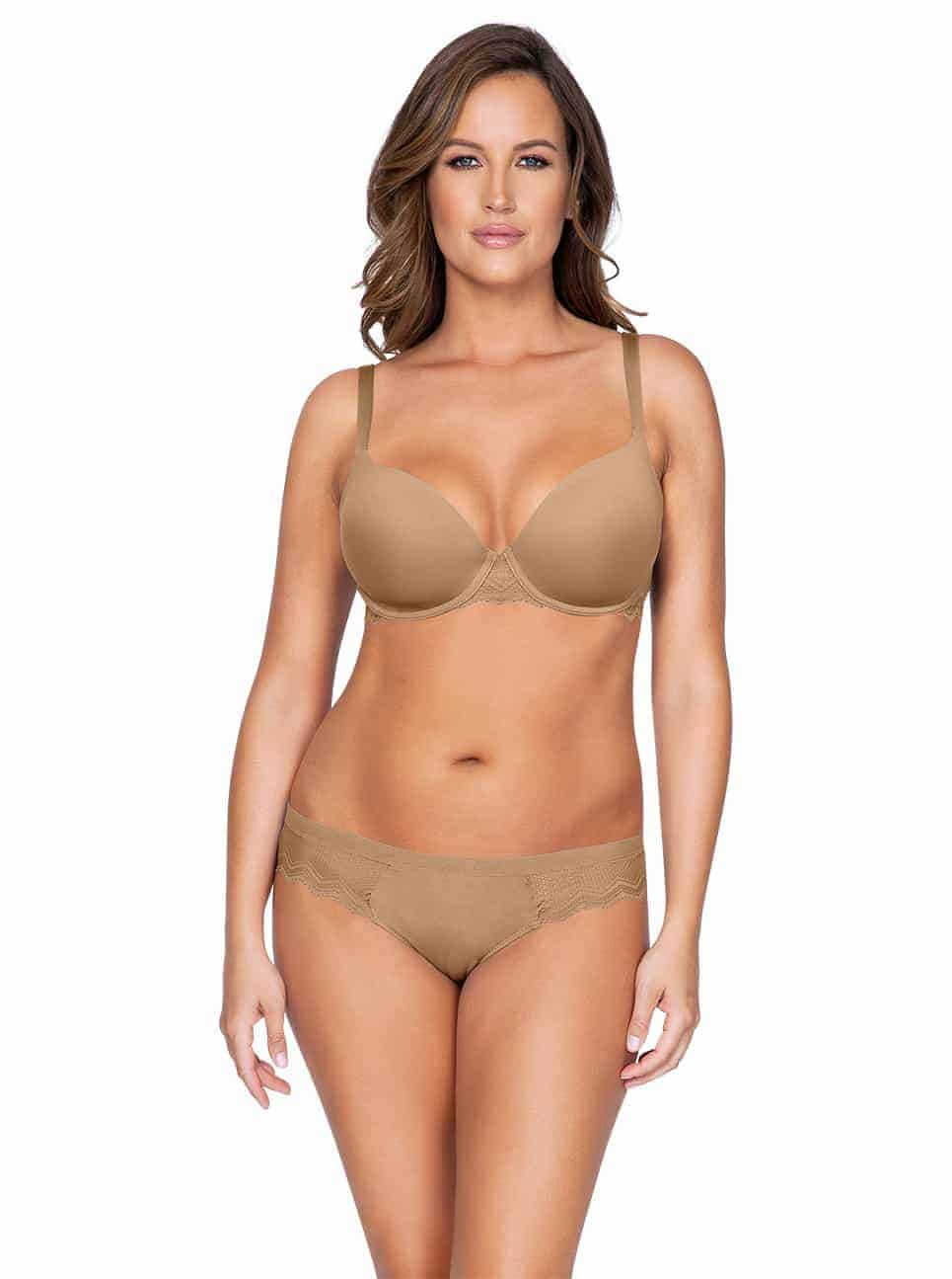 Lydie P5441ContourPadded P5443 Bikini NudeFront copy - Lydie Bikini – European Nude – P5443