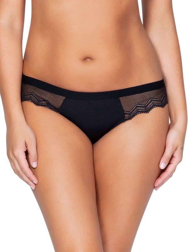 Lydie P5443 Bikini BlackFront 600x805 - Lydie Bikini – Black – P5443