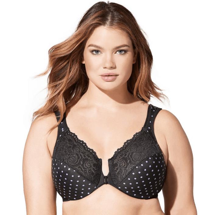 glamorise bra front closure wonderwire bra - 31 Pretty Bras Under $60 That Won't Break The Bank
