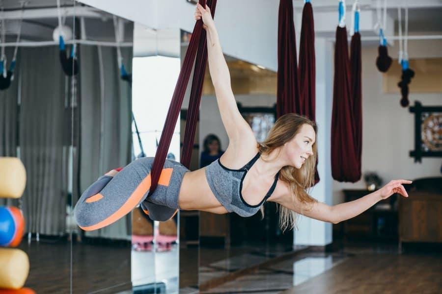 aerial aerobics
