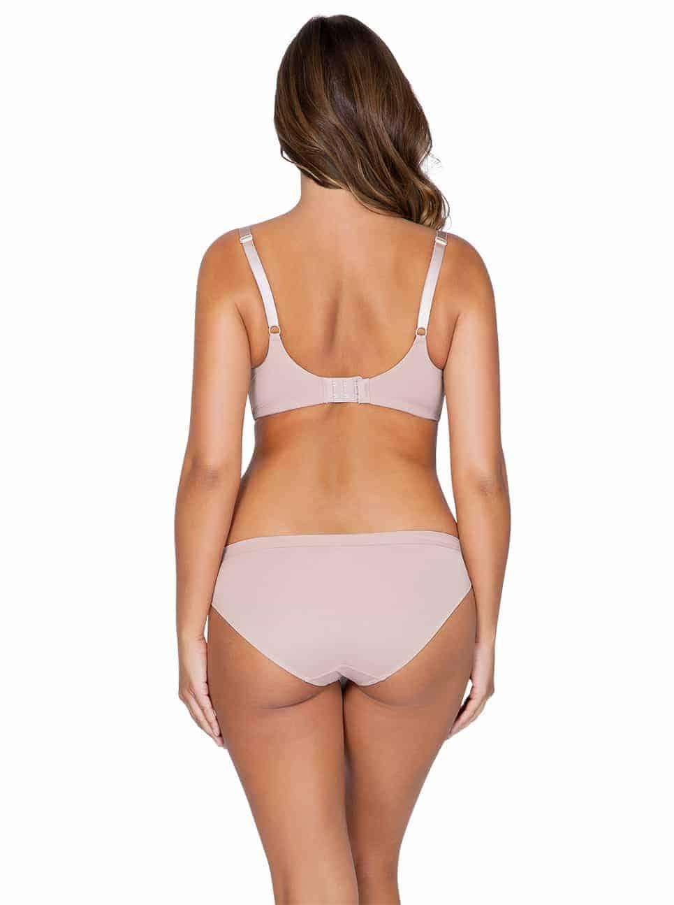 WendyP5411 PlungePadded P5413 BikiniNudeBack - Wendy Bikini – Victorian Rose – P5413