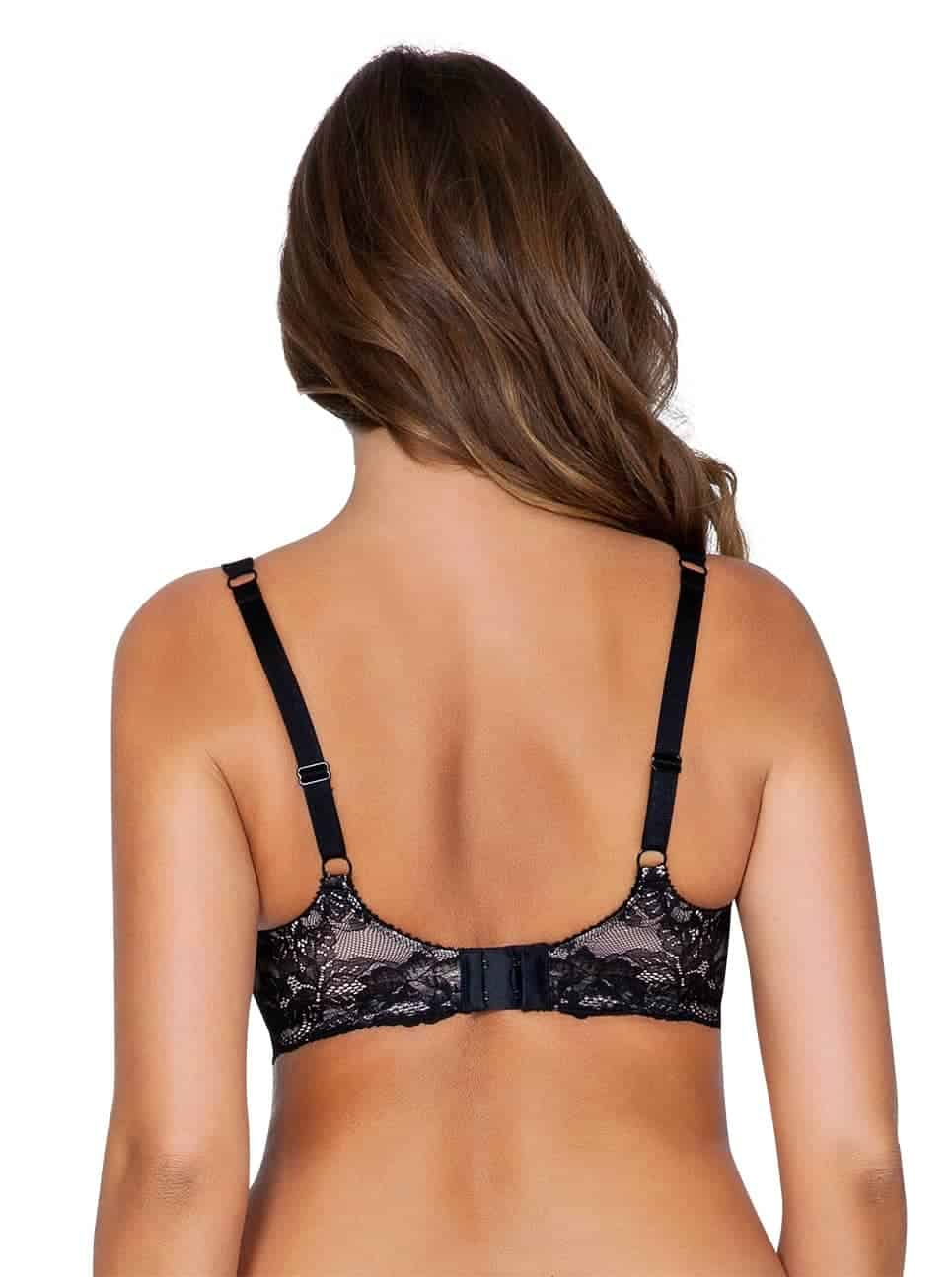 Marion P5391ContourPadded Back copy 2 - Marion Contour Padded Bra - Black – P5391