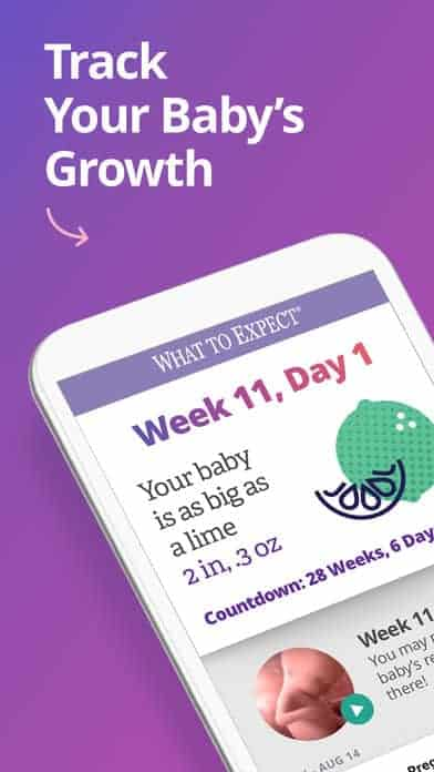 what to expect baby app