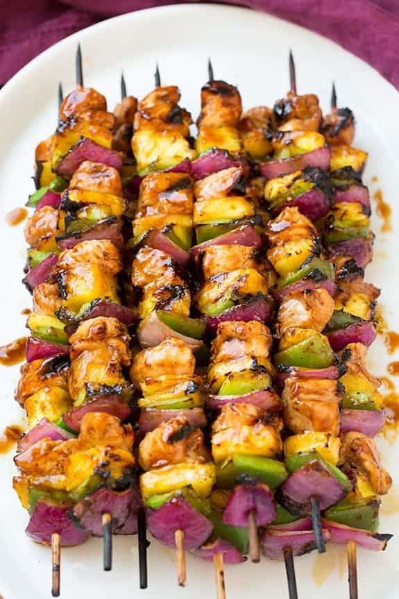 cooking classy hawaiian chicken kebabs - 12 Refreshing Dinner Dishes Perfect for Hot Weather