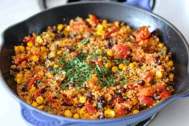 one pan mexican quinoa damn delicious - 14 Easy Meals For 2 On A Budget