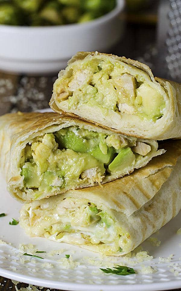 chicken avocado burritos omg chocolate desserts - 14 Easy Meals For 2 On A Budget