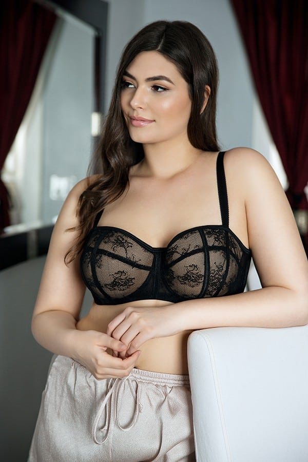 Parfait Estelle Padded Bra P5231 Black - How To Wear Sexy Lingerie