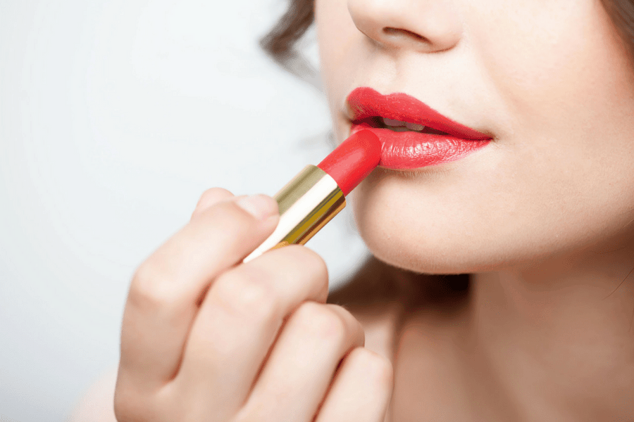 go for a bold lip - 4 Products That Will Simplify Your Morning Beauty Routine